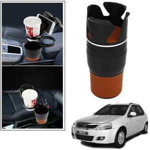 Buy Autoright 5-in-1 Car Cup / Car Sunglass / Car Mobile Holder Storage Cup For Mahindra Verito online