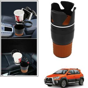 Buy Autoright 5-in-1 Car Cup / Car Sunglass / Car Mobile Holder Storage Cup For Toyota Etios Cross online