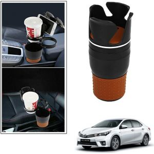 Buy Autoright 5-in-1 Car Cup / Car Sunglass / Car Mobile Holder Storage Cup For Toyota Corolla Altis online