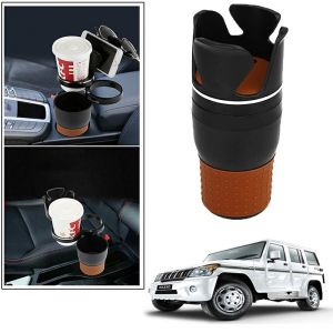 Buy Autoright 5-in-1 Car Cup / Car Sunglass / Car Mobile Holder Storage Cup For Mahindra Bolero online