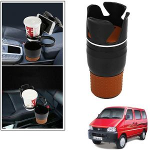 Buy Autoright 5-in-1 Car Cup / Car Sunglass / Car Mobile Holder Storage Cup For Maruti Suzuki Eeco online