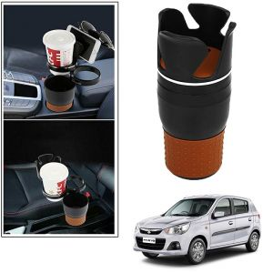 Buy Autoright 5-in-1 Car Cup / Car Sunglass / Car Mobile Holder Storage Cup For Maruti Suzuki Alto K10 online