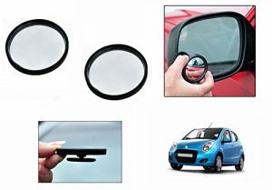 Buy Autoright 3r Round Flexible Car Blind Spot Rear Side Mirror Set Of 2-maruti A-star online