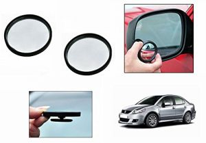 Buy Autoright 3r Round Flexible Car Blind Spot Rear Side Mirror Set Of 2-maruti Sx4 online