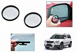 Buy Autoright 3r Round Flexible Car Blind Spot Rear Side Mirror Set Of 2-skoda Yeti online