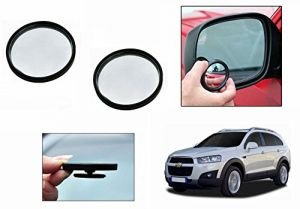 Buy Autoright 3r Round Flexible Car Blind Spot Rear Side Mirror Set Of 2-chevrolet Captiva Type 2 (2013-2015) online
