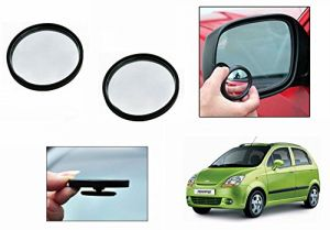 Buy Autoright 3r Round Flexible Car Blind Spot Rear Side Mirror Set Of 2-chevrolet Spark online