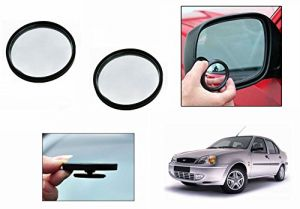 Buy Autoright 3r Round Flexible Car Blind Spot Rear Side Mirror Set Of 2-ford Ikon online