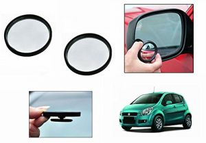 Buy Autoright 3r Round Flexible Car Blind Spot Rear Side Mirror Set Of 2-maruti Ritz online