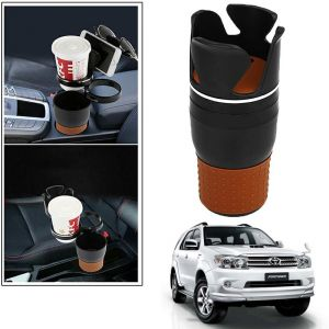 Buy Autoright 5-in-1 Car Cup / Car Sunglass / Car Mobile Holder Storage Cup For Toyota Fortuner New online