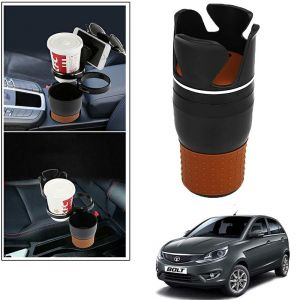 Buy Autoright 5-in-1 Car Cup / Car Sunglass / Car Mobile Holder Storage Cup For Tata Bolt online