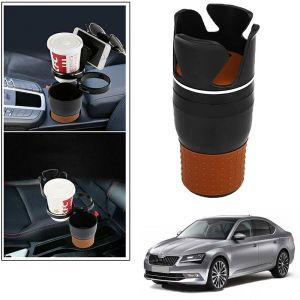 Buy Autoright 5-in-1 Car Cup / Car Sunglass / Car Mobile Holder Storage Cup For Skoda Superb New online