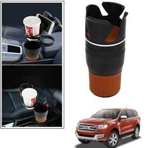 Buy Autoright 5-in-1 Car Cup / Car Sunglass / Car Mobile Holder Storage Cup For Ford Endeavour New online