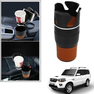 Buy Autoright 5-in-1 Car Cup / Car Sunglass / Car Mobile Holder Storage Cup For Mahindra Scorpio New online