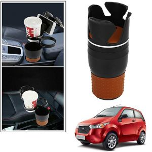 Buy Autoright 5-in-1 Car Cup / Car Sunglass / Car Mobile Holder Storage Cup For Mahindra E2o online