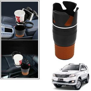 Buy Autoright 5-in-1 Car Cup / Car Sunglass / Car Mobile Holder Storage Cup For Toyota Fortuner online