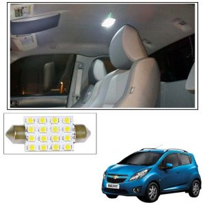 Buy Autoright 16 Smd LED Roof Light White Dome Light For Chevrolet Beat online