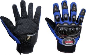Buy Autoright Bike Racing Pro-biker Motorcycle Riding Bike Gloves (xl) Blue online