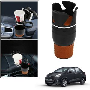 Buy Autoright 5-in-1 Car Cup / Car Sunglass / Car Mobile Holder Storage Cup For Hyundai 2017 Xcent online