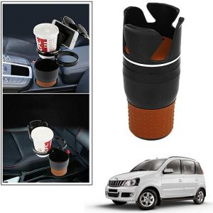 Buy Autoright 5-in-1 Car Cup / Car Sunglass / Car Mobile Holder Storage Cup For Mahindra Quanto online