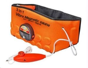 Buy 3 In 1 Heating Vibrating And Magnetic Sauna Belt online