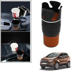 Buy Autoright 5-in-1 Car Cup / Car Sunglass / Car Mobile Holder Storage Cup For Ford Ecosport online