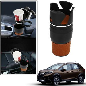 Buy Autoright 5-in-1 Car Cup / Car Sunglass / Car Mobile Holder Storage Cup For Honda Wrv online