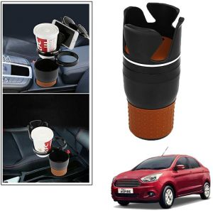 Buy Autoright 5-in-1 Car Cup / Car Sunglass / Car Mobile Holder Storage Cup For Ford Figo Aspire online