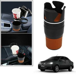 Buy Autoright 5-in-1 Car Cup / Car Sunglass / Car Mobile Holder Storage Cup For Toyota Etios online