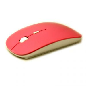 Buy Wireless Slim Mouse And Mice 2.4g Receiver Red online