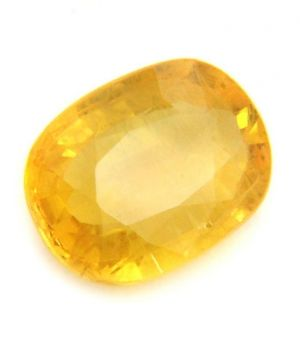Buy 5.25 Ratti Ceylon Natural Certified And Yellow Sapphire Stone online