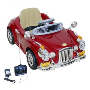 Buy Wheel Power Vintage Toy Car 1828 Maroon online