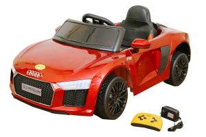 Buy Wheel Power Baby Battery Operated Ride On Audi Car Red online