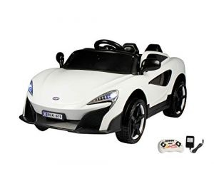 Buy Wheel Power Baby Battery Operated Ride On Porsh Car White Free Fidget online