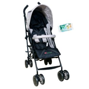 Buy Harry & Honey Baby Solo Pram Grey Free Wipes online