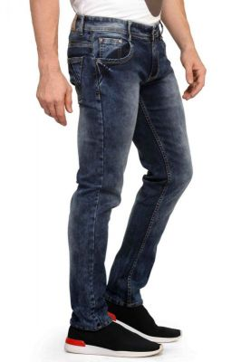 Buy Mr.stag Men's Blue Denim Jeans online