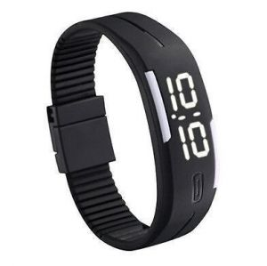 Buy LED Digital Watches Jelly Men Wristwatch Magnet Buckle Clock online