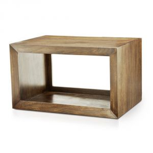 Buy Inhouz Sheesham Wood Resule Bedside Table (teak Finish) online