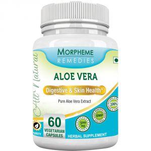 Morpheme Aloe Vera 500mg Extract 60 Veg Caps