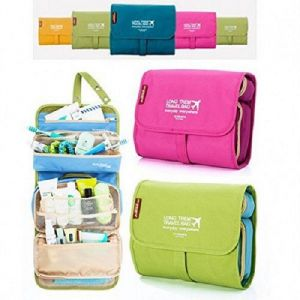 Buy Mutipurpose Foldable Long Term Travel Bag Organizer With 2 Detachable Pouches (random Colors) online