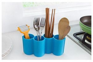 Buy Silverware Spatula Cookware And Chopsticks Drying Cutlery Holder Storage Organizer online