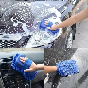 Buy Microfibre High Performance Cleaning Sponge For Home Kitchen Car Bike Vehicle Washing Cleaning Shining (random Colour ) online