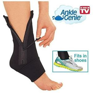 Buy As Seen On TV Ankle Genie Zip Up Compression For Reducing Swelling & Supporting Ankle Weaknes online