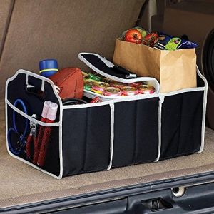 Buy New Product Foldable Travel Car Boot Organizer (colour May Vary) online