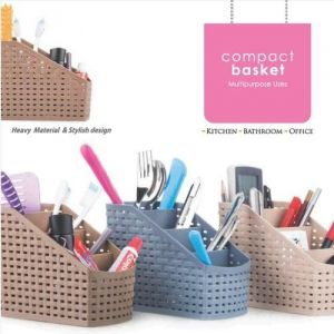Buy Multi-colour Compact Basket For Multi-purpose Use online