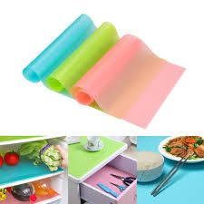 Buy Refrigerator Pad Washable Antibacterial Antifouling Mildew Moisture Absorption Table Mat Fridge Magnet Pads online