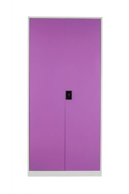 Buy Panajoy Two Door Wardrobe- Lavender online