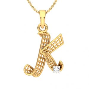 Buy The 'k' Alphabet Pendant Sd-pn601 online