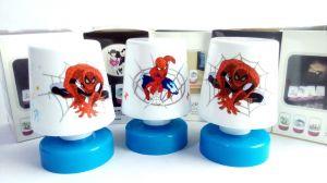 4 Pcs Spiderman Relax LED Lamp Kids Room Best Birthday Return Gift Gr07