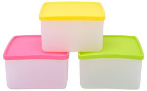Buy Actionware Square Storage - 1ltr (3pcs Set) online